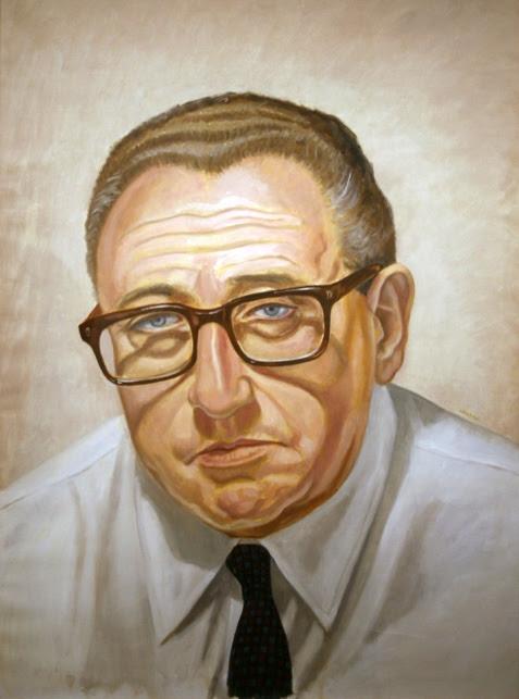 Henry Kissinger (Philip Pearlstein)