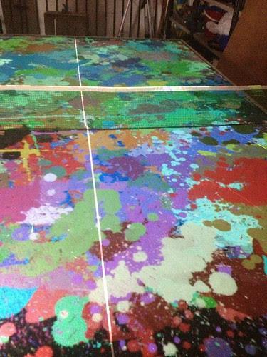 Ping Pong Art - Splats