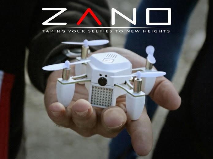 Zano, o drone para tirar selfies (Foto: Divulgação/Kickstarter)