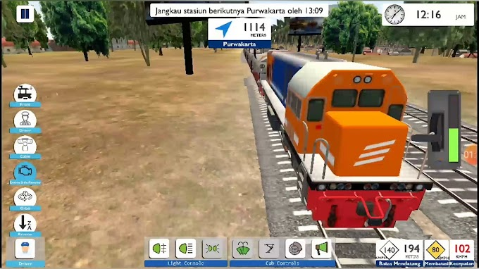 Game Online Simulator Kereta Api Indonesia