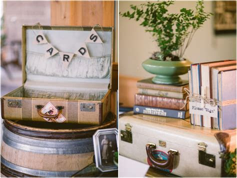Using Vintage Suitcases in Your Rustic Wedding   Rustic