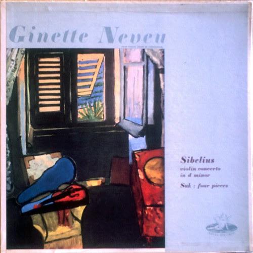 US ANGEL 35129 - Ginette Neveu SIBELIUS : Violin Concerto