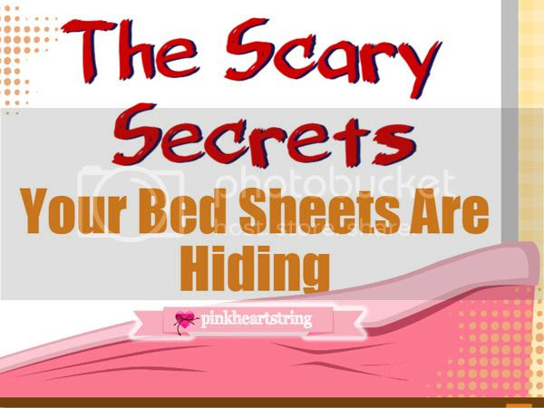 The Hiding Scary Secrets of Your Bed Sheets (Infographic)