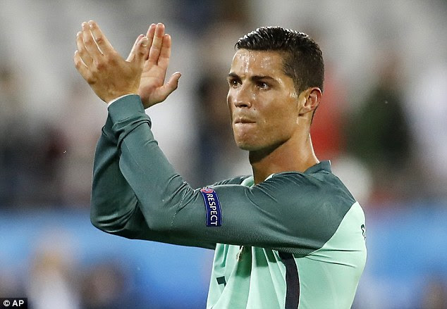 Ronaldo is set to captain his country against Poland in the quarter-finals of Euro 2016 on Thursday