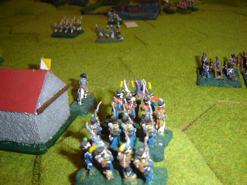 Napoleon orders the Guard in