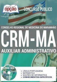 Apostila CRM-MA AUXILIAR ADMINISTRATIVO 2017.