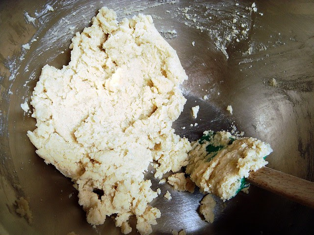 lemon spritz cookies with xylitol