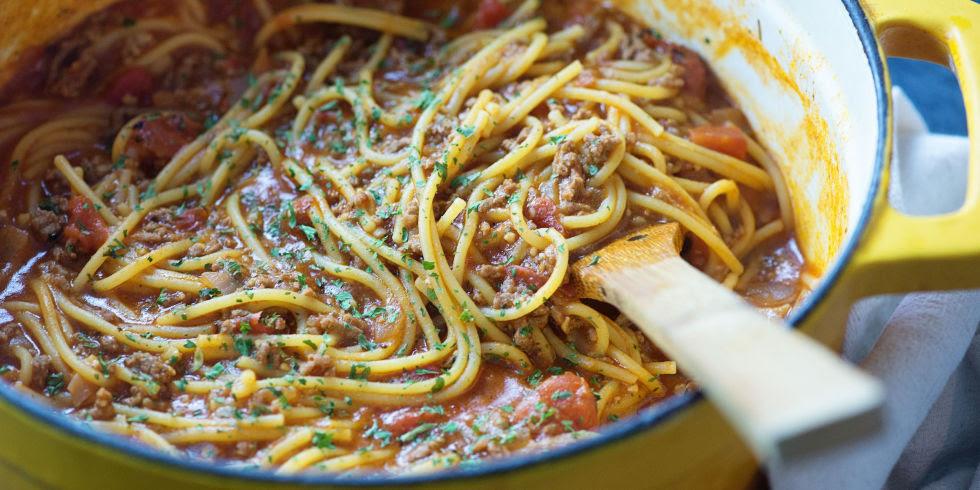 One Pot Spaghetti Horizontal