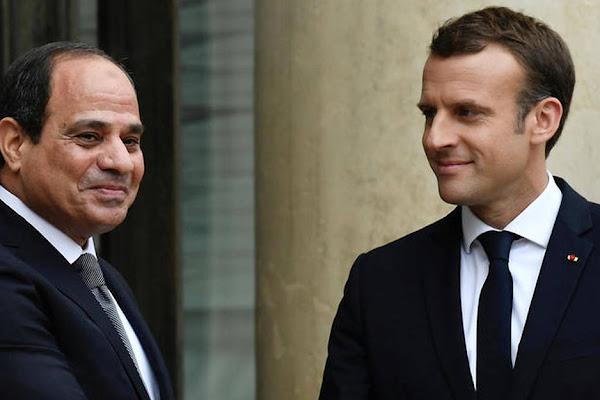 cab9d2d3db0 Macron au Caire pour resserrer les liens avec Sissi