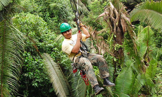 Aerial Trek belize