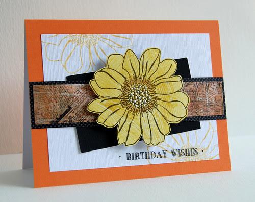 Birthday Wishes (gift card holder)