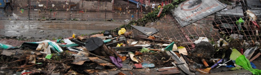 Typhoon damage in the Philippines. (Photo: Shutterstock.com)