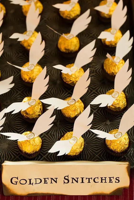 fügen Sie die Flügel ein Ferrero Rocher und erhalten Sie eine sofortige goldene snitch begünstigt