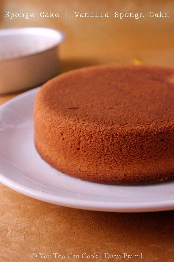 Sponge Cake Ingredients And Measurements