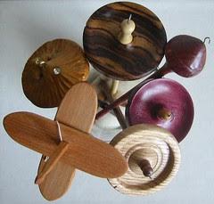 Vase of spindles