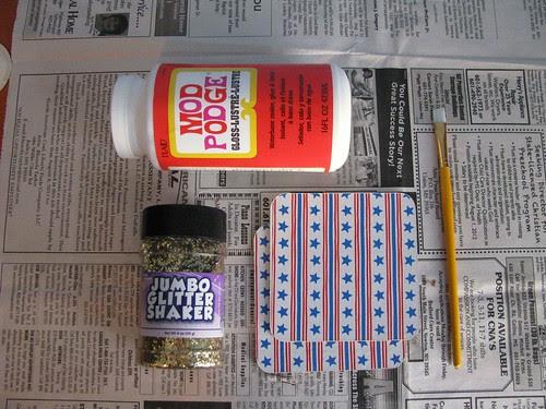 Glitter Coaster Supplies