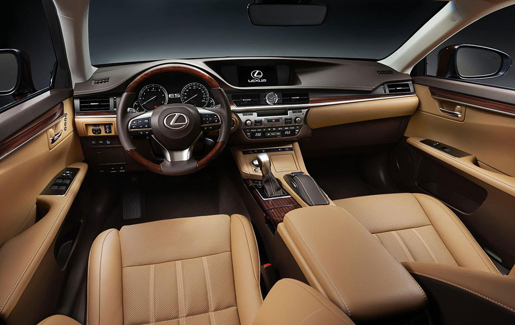 2016 Lexus ES Facelift Photo 8 14533