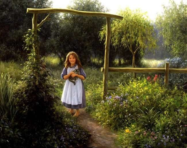 "*""Down the Garden Path""  Robert Duncan"