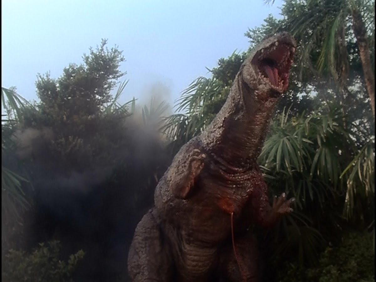 Godzillasaurus takes a beating