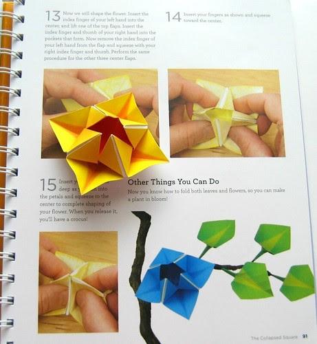 Origami 101 crocus