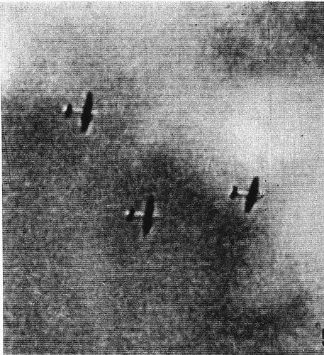 3 aviones republicanos bombardean Toledo el 21 de Julio de 1936