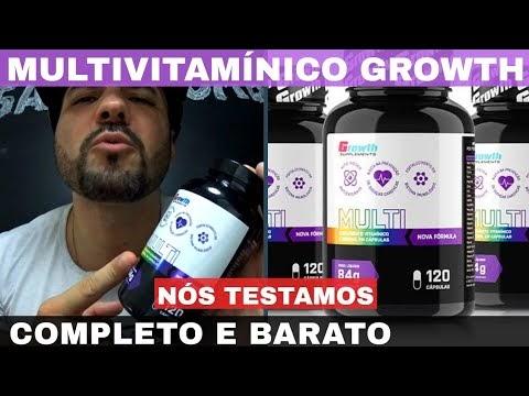 MULTI GROWTH O MELHOR POLIVITAMINICO CUSTO BENEFÍCIO DO MERCADO