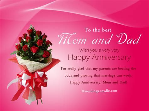Best Adorable Wishes For Mom And Dad On Wedding