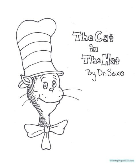 cat   hat  coloring pages coloring pages