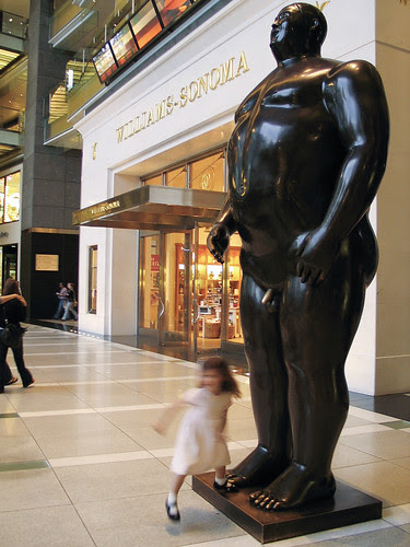 Botero Statue, NYC