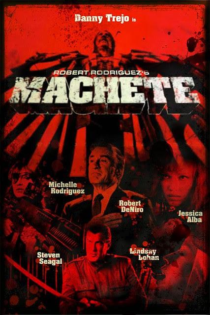 MACHETE movie poster C
