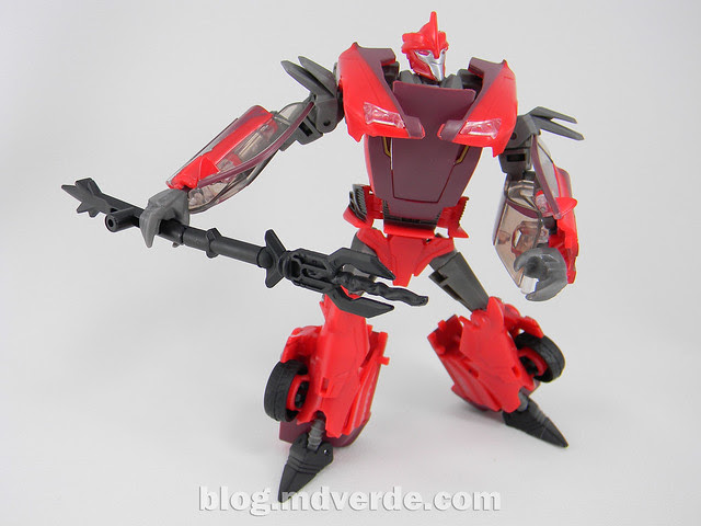 Transformers Knock Out Deluxe - Prime RID - modo robot