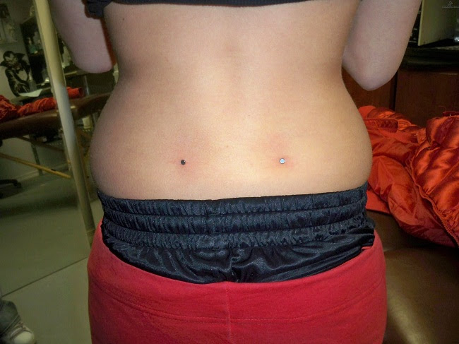 Back Dimple Piercing Pain Healing Price Jewelry Pictures Body