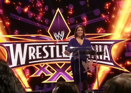 WWE Announces Wrestlemania 30 Week Stephanie McMahon