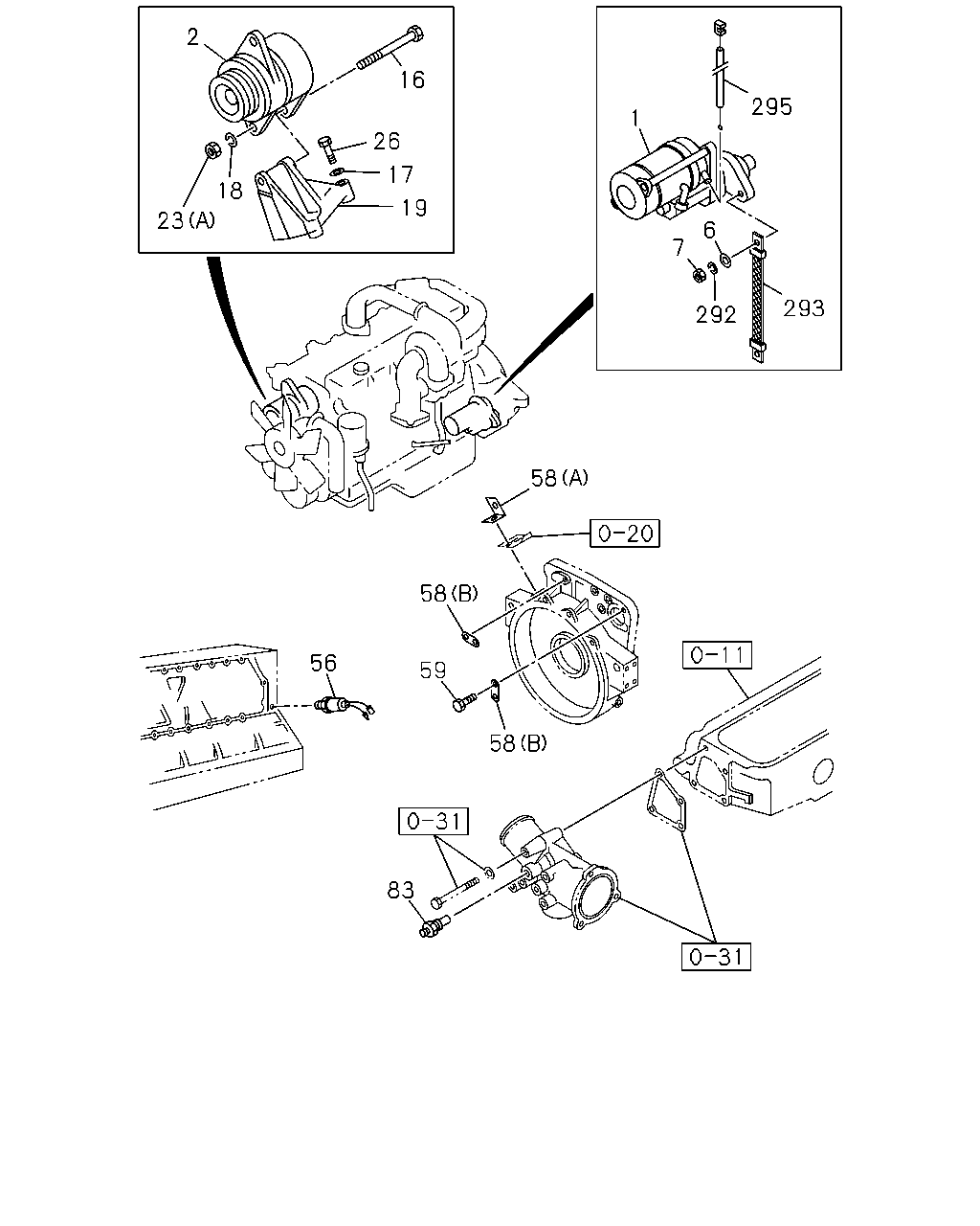 F G 10630 Fvr Rhd 92 95 0 Engine Emission Engine Electrical 0 60 Engine Electrical Control Parts Catcar Info
