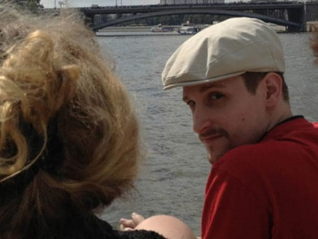 NSA whistleblower Edward Snowden sightseeing on a boat in Moscow shortly after fleeing the US. Picture: Life News