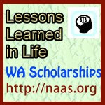Lessons Learned in Life Scholarships for Washington students