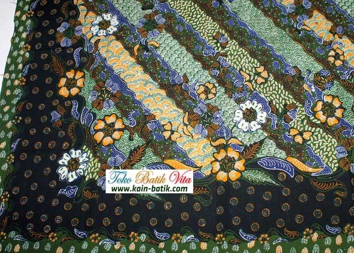 Contoh Gambar Batik Flora Fauna
