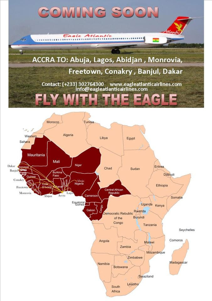 Eagle Atlantic Airlines' planned network launch