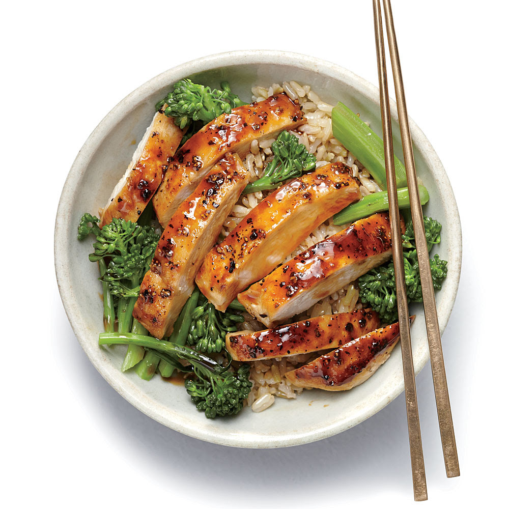 <p>Lemon Chicken Teriyaki Rice Bowl</p>