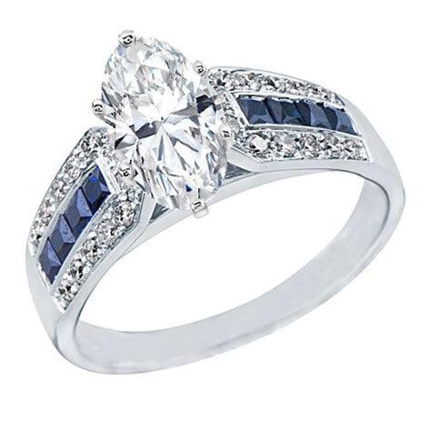 Oval Diamond Vintage Engagement Ring Horse Shoe, 0.6ctw