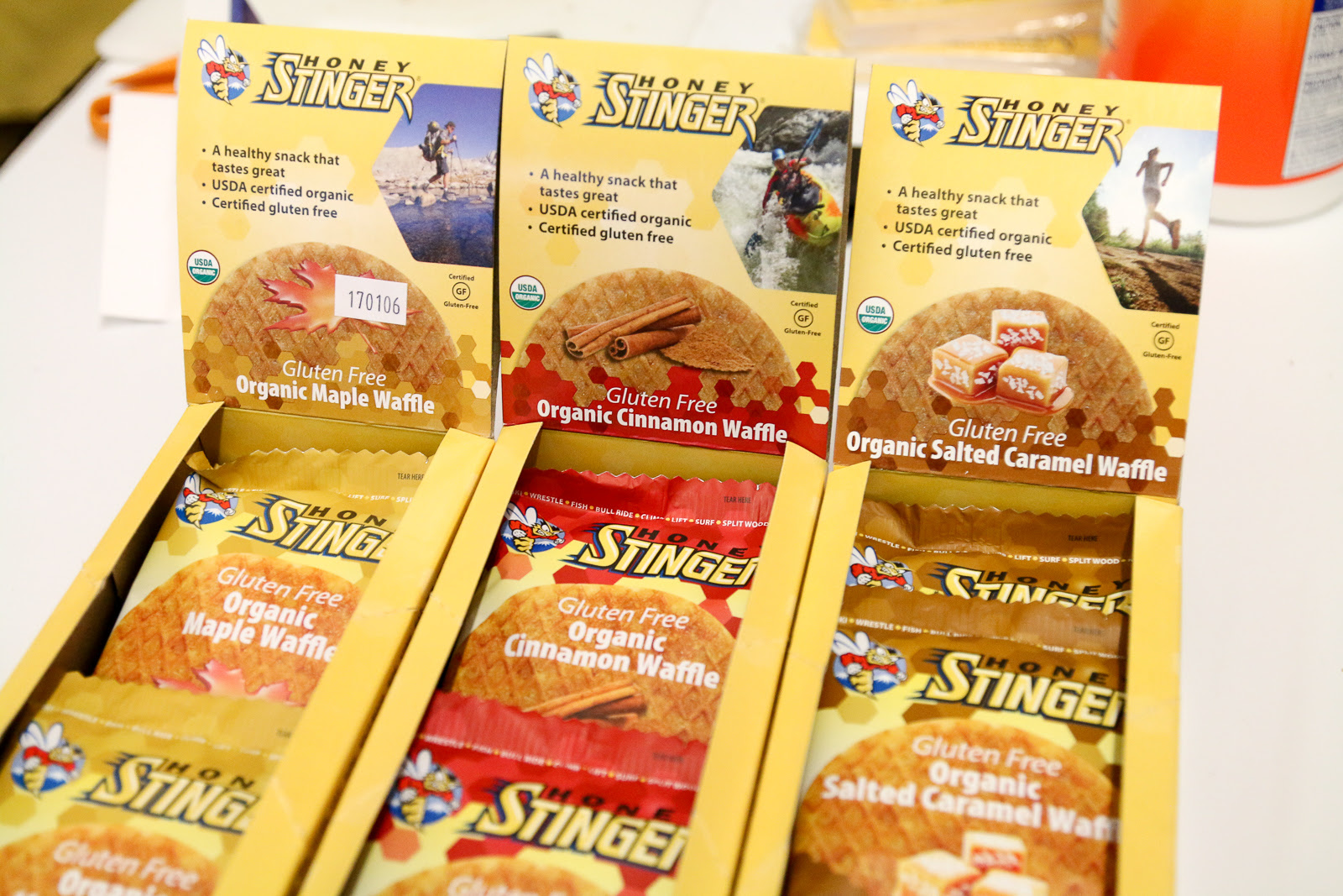 Gluten Free Honey Stinger Waffles and Protein Chews are ...