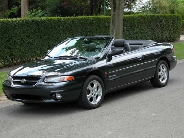 1990 Chrysler Le Baron 2 Dr Gtc Turbo Convertible Picture