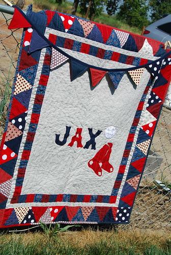Baby Jax's quilt