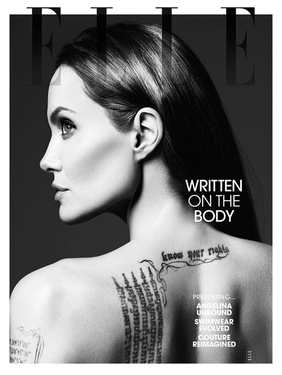 Angelina Jolie by Hedi Slimane Elle US 04