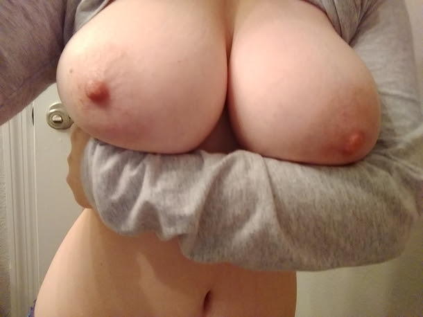 Do you like it when I hold my tits up like this