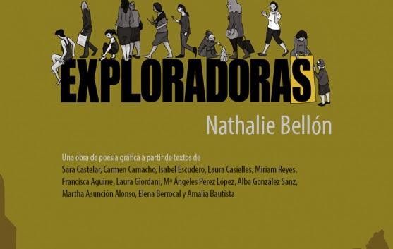 """Nathalie Bellón presenta """"Exploradoras"""", álbum de poesía gráfica (Libros de la Herida)"""