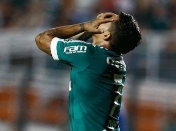 Palmeiras buscou o empate nesta quinta-feira