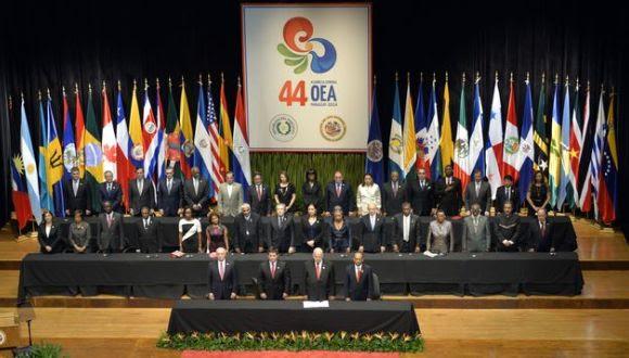 Reunión de la OEA en Paraguay.