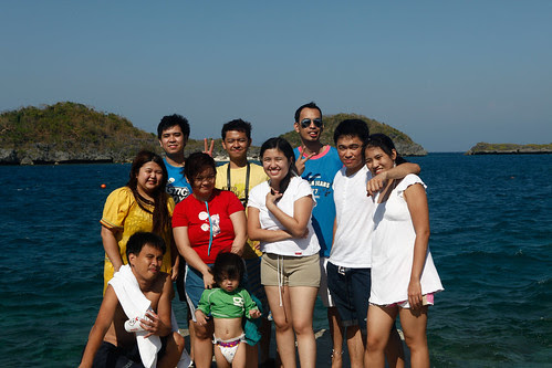 Hundred Islands Group shot