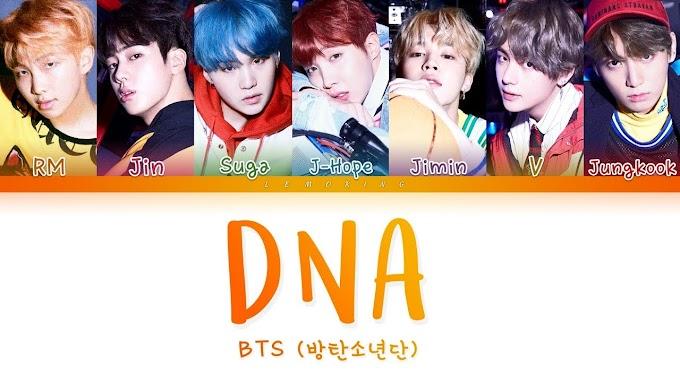 DNA Lyrics One Of The Best Lyrics in 2021